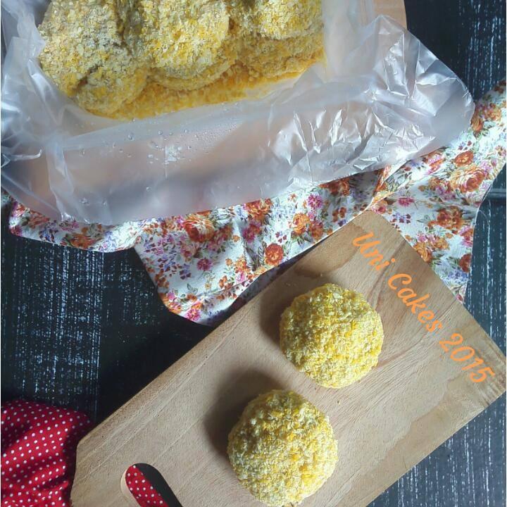 Shrimp Katsu Uni Cakes