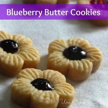 Bluberi Butter Cookies