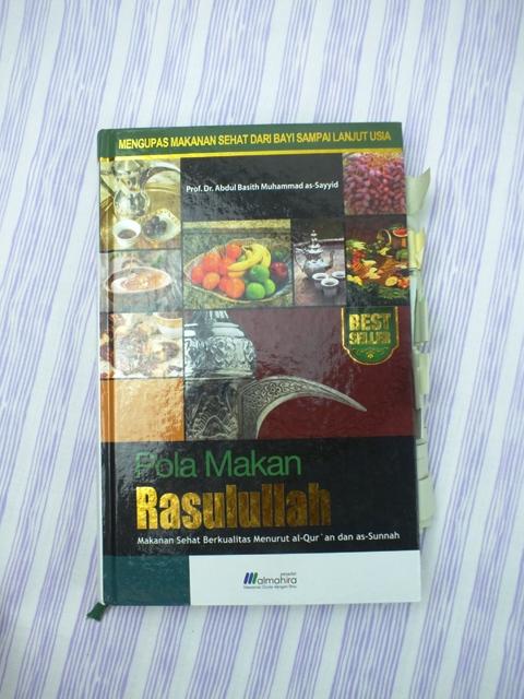 Buku Pola Makan Rasulullah