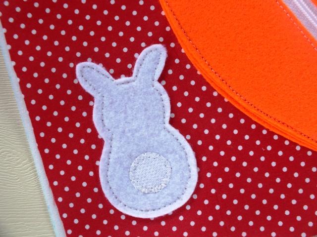 Flanel Karakter Bunny untuk Busy Book