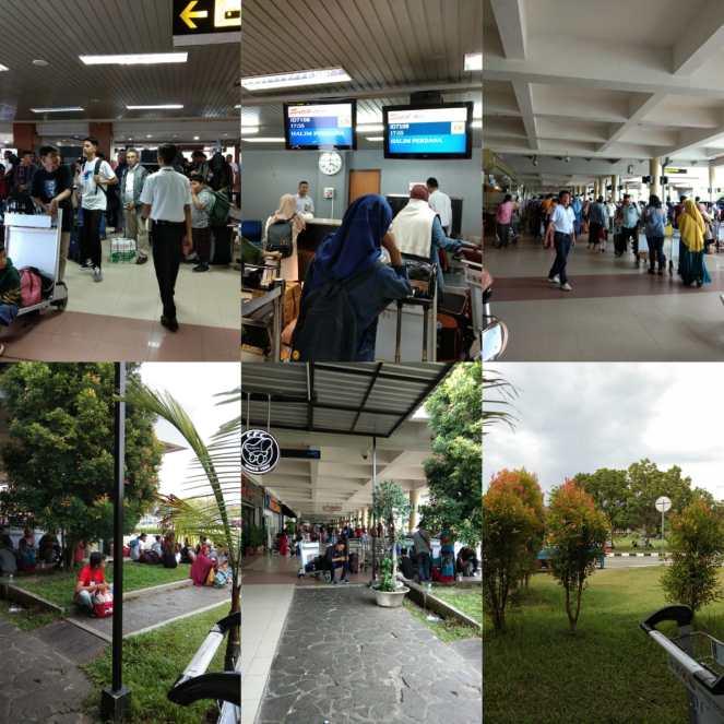 Suasana Bandara MIA Tanggal 17 Juni 2019