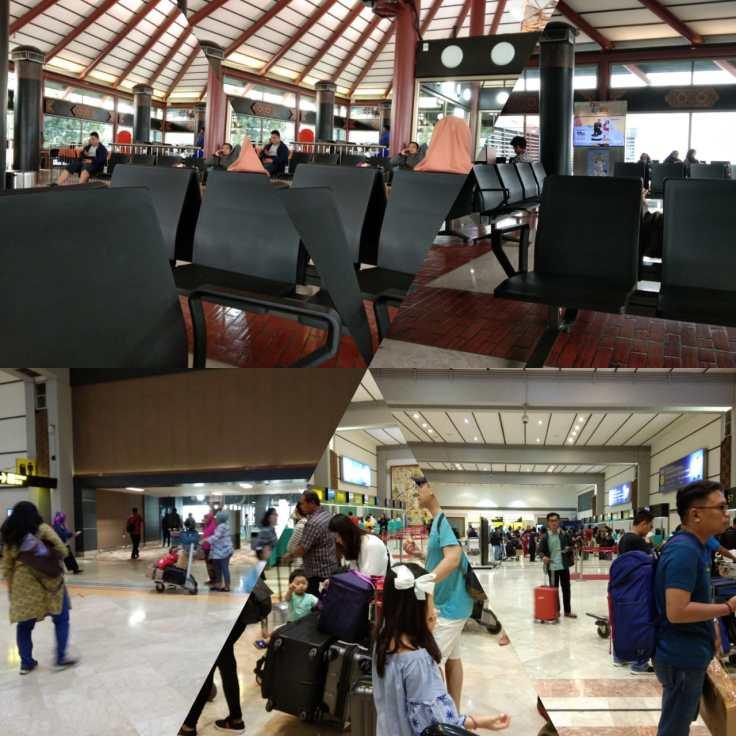 Suasana Bandara Soeta H-2 Idul Fitri 2019
