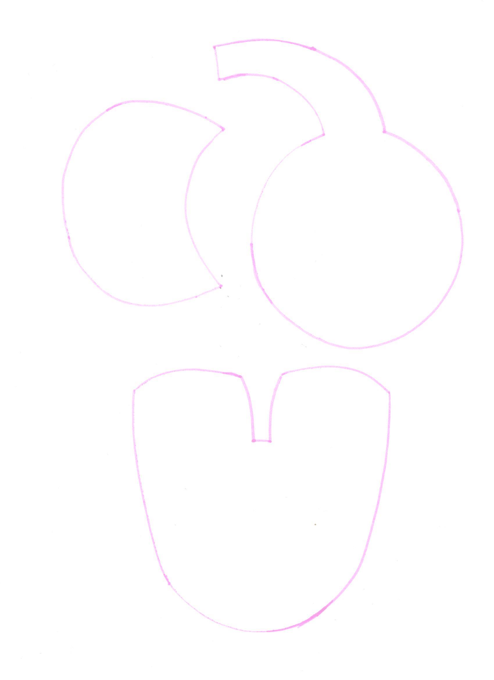 Pola Flanel Karakter Gajah
